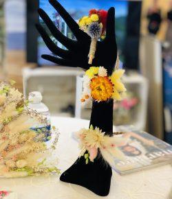 Atelier floral 64 bracelets en fleurs séchées