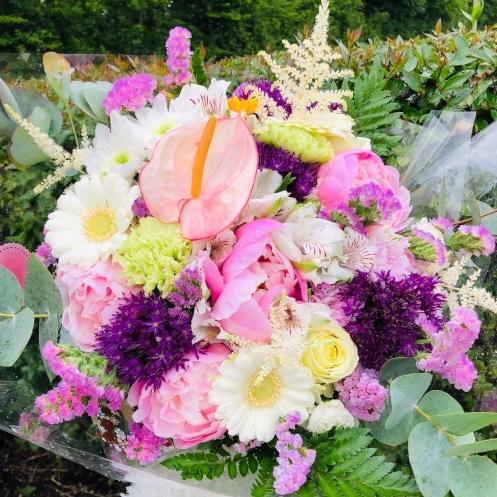 Bouquet, Fleurs, Atelier floral 64