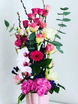 Atelier Floral 64 composition florale haute